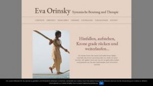website familientherapie eva orinsky