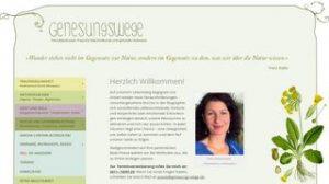 Website Petra Balschuweit, Praxis für Naturheilkunde und spirituelle Heilweisen