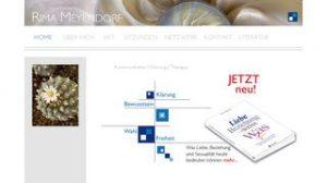 Website Rima Meyendorf Kontemplative Kommunikation